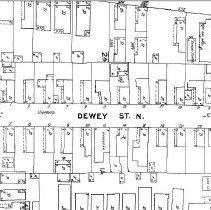 Image of Dewey Street (1944 Sanborn Map)