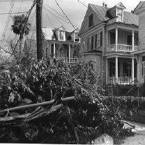 Image of HUGO.002.059 - 129 Broad Street / 131 Broad Street / 133 Broad Street After Hurricane Hugo