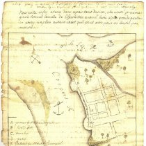 Image of Map of Charles Towne, 1691 - Map