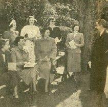 Image of 1949 Tour of Homes Hostesses and Samuel Gaillard Stoney - 1949