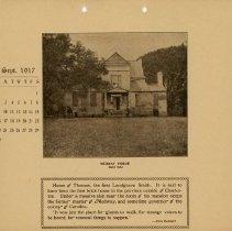Image of 1917 Calendar - September - Medway House