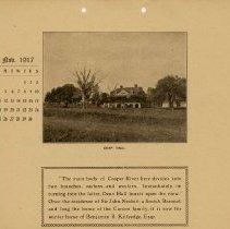 Image of 1917 Calendar - November - Dean Hall