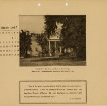 Image of 1917 Calendar - March - Hampton