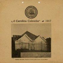 Image of 1917 Calendar Cover - Powder Magazine