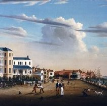 Image of View Along East Battery - 1831 (date of original)