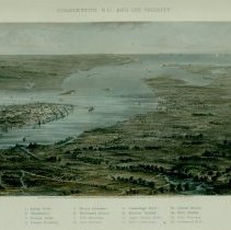 Image of Charleston, S.C. and its Vicinity (1863)
