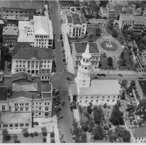 Image of Aerial View of the Four Corners of Law - 1940s