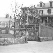 Image of n: Washington Square Park Gate, 1940s