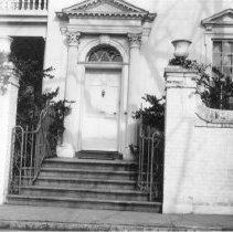 Image of o: Doorway, Col. John Stuart House, 1940s
