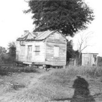 Image of q: Cabin and Outhouse, 1940s