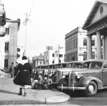 Image of f: Meeting Street South of Broad Street, ca. 1940s