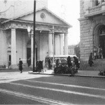 Image of g: Broad Street at Meeting Street, ca. 1940s