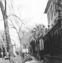 Image of h: Looking North on Legare Street, ca. 1940s