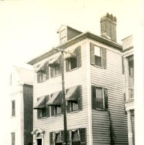 Image of The Gordon House - Church Street [Mrs. Gordon's Boarding House, 55 Church Street] - 1937