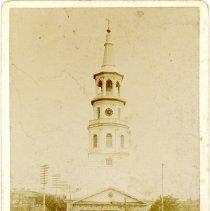 Image of St. Michael's Church Souvenir Card - 1887
