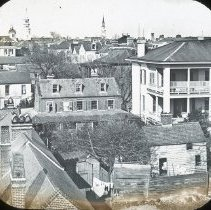 Image of Panorama from South Battery, Charleston, S.C. - late 19th c.
