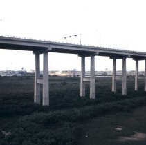 """Image of """"Old Cooper River Bridges"""": John P. Grace Memorial Bridge / Silas N. Pearman Bridge - 1970"""