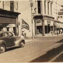 Image of Looking South on King Street from Hasell Street (240-254 King Street) - ca. 1940s