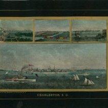 Image of Charleston, S.C. [Four Views of Charleston Harbor] - 1860s