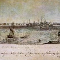 Image of Eastern View of the City of Charleston, S.C. - 1838