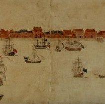 Image of View of Charleston, South Carolina - 1739 (original view)
