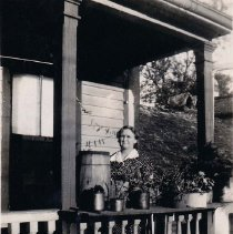 Image of Front Porch of 30½ Anson Street - ca. 1930s
