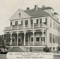 Image of Mr. and Mrs. Andrew J. Riley - 161 Calhoun Street - ca. 1920