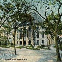 Image of Memminger High School [20 Beaufain Street a/k/a 7-11 St. Philip Street] - Undated