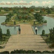 Image of The Sunken Gardens, Hampton Park - ca. 1909