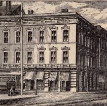 Image of Southern Life Insurance co., 2 Broad Street, ca. 1875
