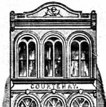 Image of 11 Broad Street (1856 Image from 1886 City Directory)