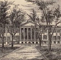 Image of Randolph Hall, ca. 1875