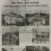 Image of News & Courier Tornado Picture Edition - News and Courier (Charleston, S.C. : Daily)