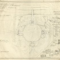 Image of Sketch Plan for a Garden at Mulberry