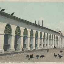 Image of Central Market and the Buzzards, Charleston, S.C.: A Part of the Old Slave Market - early 20th c.
