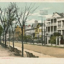 Image of South Battery, Charleston, S.C. - early 20th c.