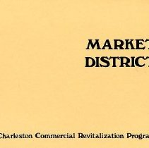 Image of Charleston Commercial Revitalization Program: Market Street, District Plan and Program - Barton-Aschman Associates