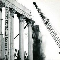 Image of 2016.018.01 - Demolition of the Charleston Hotel [200 Meeting Street]