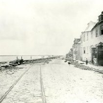 Image of 2016.018.05 - View South on East Bay Street After 1885 Cyclone