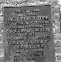 Image of b: Liberty Tree Plaque