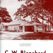 Image of C.W. Blanchard, Contractor and Builder - Brochure