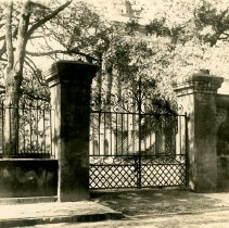 Image of St. Philip Street Gate to Randolph Hall  - ca. 1920