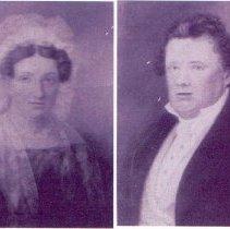 Image of Portraits of Sara and Christian Hoppholdt