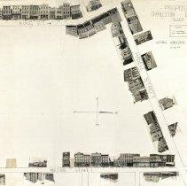 Image of Proposed Charleston Center Block [Photographic Layout] - Layout, Photographic