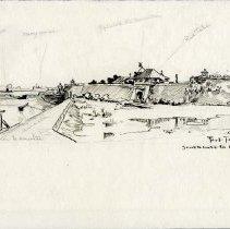 Image of X1964.11.44 - FORT TOBAGGO SOUTH GATE TO CAVITE P.I.