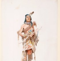 Image of 1990.53.01 - BLACKFOOT BRAVE OF 1858