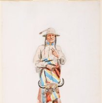 Image of 1990.53.02 - BLACKFOOT BRAVE OF 1898