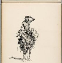 Image of 1980.60.01 c - UNTITLED (INDIAN ON HORSEBACK)