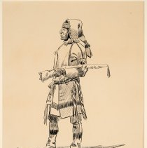 Image of X1963.01.04 - CREE INDIAN, THE