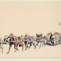 Image of X1969.02.01 - INDIAN, DOGS, DOGSLED